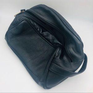 Cortez Genuine Leather 🐄 Masculine Toiletry Bag